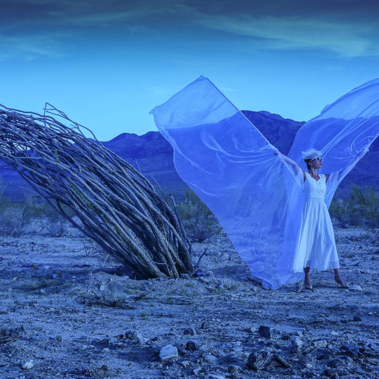 Jeremy De Backer JDB US Cliches LuNe ailes desert vent Death Valley USA bleu