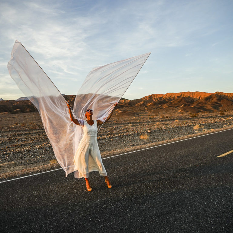 Jeremy De Backer JDB US Cliches LuNe ailes route Death Valley USA